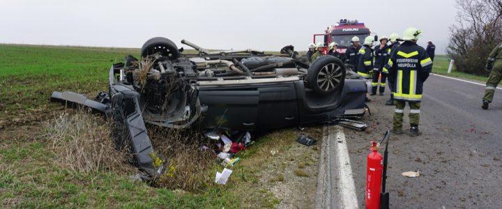 Verkehrsunfall mit eingeschlossener Person am 31.10.2019