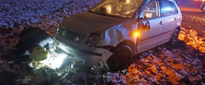 Verkehrsunfall auf der L56 am 04.12.2019