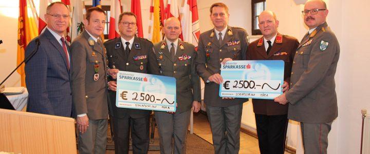 Spendenübergabe des Bundesheeres an die FF Allentsteig