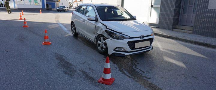 Verkehrsunfall auf L56 in Allentsteig