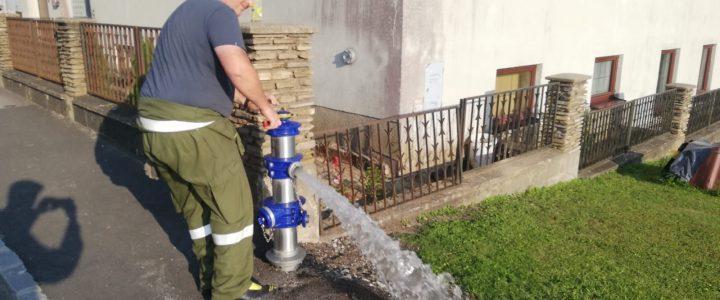 Hydrantenbegehung am 23.07.2021