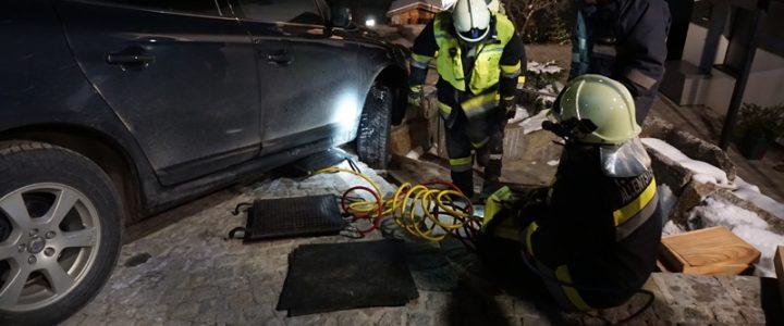 Fahrzeugbergung in Allentsteig am 23.02.2018