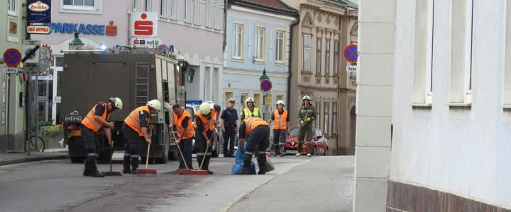Schadstoffeinsatz (S1) in Allentsteig am 26.07.2018