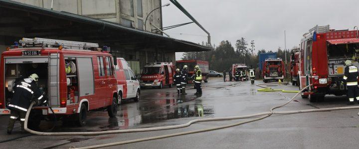 Lagerhallenbrand im Lagerhaus am 27.10.2018