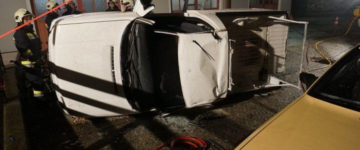 Monatsübung Verkehrsunfall am 02.11.2018
